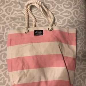 Ralph Lauren Striped Beach Bag/Tote